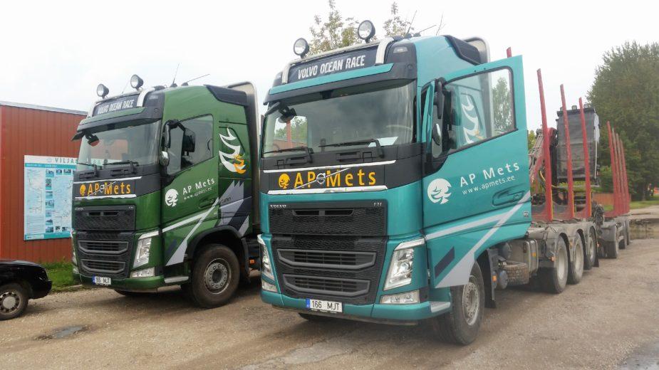A&P Mets ostis uued metsaveoautod